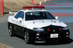 The World's Finest Police Cars GT-R R34