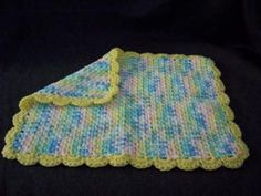 Doll Blanket...Can Be Made Into Baby Blanket