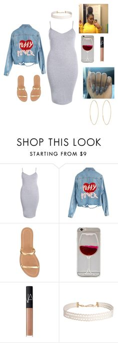 """""""Thick mami 💋💋"""" by official-jamaya ❤ liked on Polyvore featuring Boohoo, High Heels Suicide, J.Crew, NARS Cosmetics, Humble Chic and Lana"""