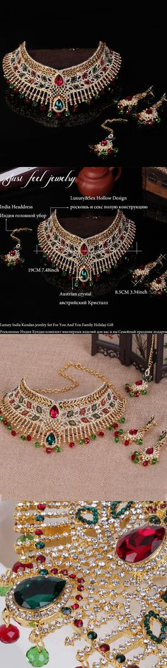 Middle Eastern 166732: Islamic Arabian Dubai Necklace Headwear Earring Collier Choker Statement Wedding -> BUY IT NOW ONLY: $50.7 on eBay!