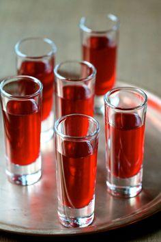 Cranberry Liqueur with a Twist