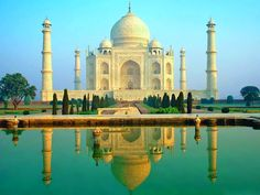 Taj Mahal India 7 wonders of World... this one is definitely another must see!