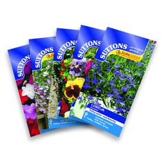 Suttons Seeds Hanging Basket Flower Seed Collection *** Click on the image for additional details. #PlantsSeedsandBulbs