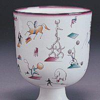 Gio Ponti - Il circo, porcellana policroma, Sesto Fiorentino, Museo Richard Ginori della Manifattura di Doccia