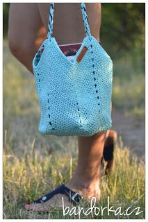bandorka: Háčkovaná letní kabelka Crochet Top, Women, Fashion, Moda, Fashion Styles, Fashion Illustrations, Woman
