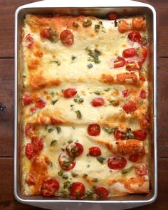 Breakfast Enchiladas | These Breakfast Enchiladas Are Perfect For Weekend Brunch
