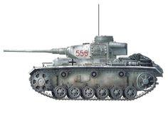 Panzerkampfwagen III modelo J, 1ª División Panzer ''Leibstandarte Adolf Hitler'', Kharkov, 1943.