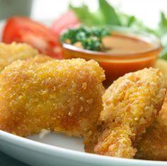 Resep Nugget Ayam -  http://resep4.blogspot.com/2013/04/resep-nugget-ayam-enak.html