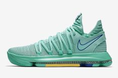 Release Date: Nike KD 10 City Edition 2 (Hyper Turquoise)