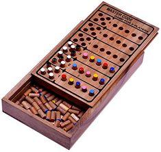 Code Finder - Master Code - Superhirn - Strategiespiel - Denkspiel - Knobelspiel - Brettspiel aus Holz Logoplay-Holzspiele http://www.amazon.de/dp/B009X22R2A/ref=cm_sw_r_pi_dp_lhTevb1JZW3Y2