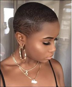 Shaved Hairstyles For Black Women Fascinating 23 Most Badass Shaved Hairstyles For Women  Pinterest  Shaved