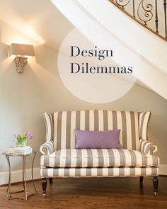 On the blog today- send us your Design Dilemmas to get answered on the blog.