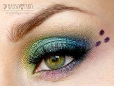 Peacock Makeup Tutorial - Makeup Geek