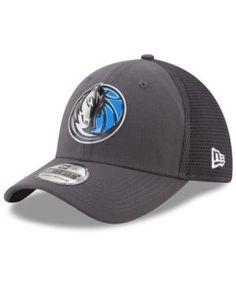 New Era Dallas Mavericks On Court Graph 39THIRTY Cap - Gray L/XL