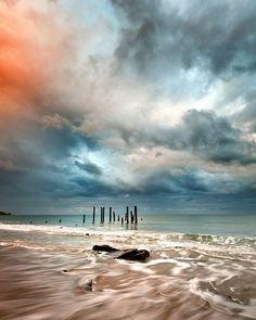 Port Willunga Sunrise.   Adelaide, South Australia.  James Yu Photography