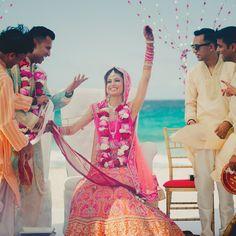 Destination Big Fat Indian Wedding, Hard Rock Hotels   Photo by mzolu