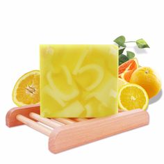 Organic Orange Fragrance Handmade Soap with Essential Oils Moisturizing Soap for Skin and Face