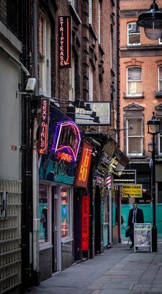 Soho, London //robdawkinsphotography.