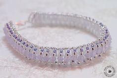 Ice Bracelet Beadwoven Bracelet Pattern by GQHPatternsandKits