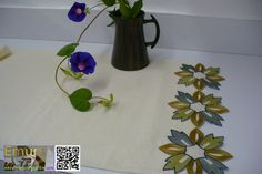 Table runner Celtic dreams cottonhome decor table decor by Emurs