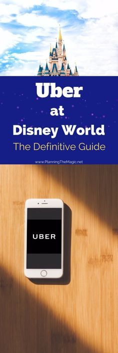 Uber at Disney World is a dream come true.   What is Uber?   Uber is an app on your phone that acts as an electronic taxi system. Its a flat fare that you get to see before you request one and there is no tipping involved.  Uber prices are also super econ