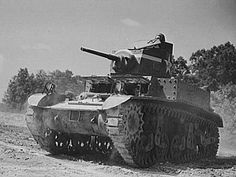 """The Stuart was a light tank which was intended to perform reconnaissance and screening operations similar to the role formerly played by cavalry. The name """"Stuart"""" was given to the tank by the British. The British soldiers in North Africa called them """"Honeys"""". The Stuart tanks fought in the Pacific, Mediterranean and European theaters of operation. They were used by U.S., British, Commonwealth and Soviet amies."""