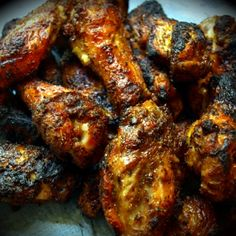 Grilled Spicy Chicken Wings Recipe