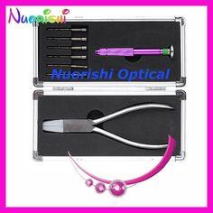Professional Glaases Eyeglass Tool Screwdriver Set Plier Kit PL733 Free Shipping