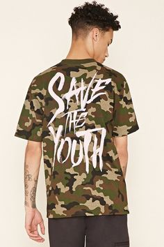 Defyant Save the Youth Camo Tee   21 MEN - 2000199721