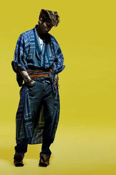 # 2: 'Japanese retailer Isetan Shinjuku collaborated with prominent Japanese designers to release a line of reinvented men's kimonos for the Summer 2012 collection. Designers include UNDERCOVER, PORTER, WACKO MARIA, PHENOMENON and White Mountaineering among others.Text by Trenton Millar on Trend Hunter