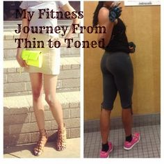 Fitness Before & After: From Thin to Toned