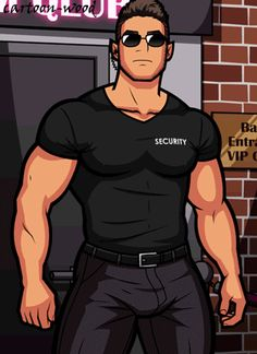 undressed Brudd the bouncer