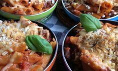 Heerlijke pasta pannetjes.