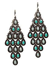 Love these...if only big earrings were my thing.