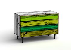 artist painted furniture | Roy Lichtenstein's Interior Series Paintings have come to life.