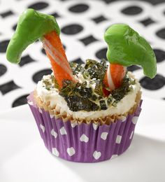 Not your ordinary cupcake. Bring these treats to life with the deliciously orange flavor of Fanta