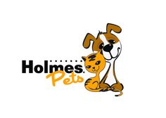 Holmes Pets Logo Concept