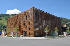 Innovative Modern Wood Buildings Photos | Architectural Digest Aspen Art Museum, Aspen, Colorado Shigeru Ban Architects Woven in wood, Shigeru Ban's Aspen Art Museum is stunningly intricate, providing for moments of mystery and play.