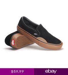 d42c964304 Vans Slip-On Pro (Rubber BlackGum) Mens Skate Shoes