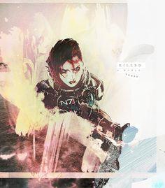 I killed a world today. I got a world to save. Shepard, Mass Effect