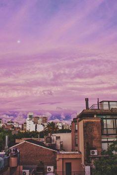 pink sunset / travel / vacation / brazil / colorful sky