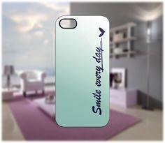 Smile Every Day Case for iPhone 5/4 Samsung Galaxy S2/S3/S4 Blackberry Q/Z - PDA Accessories