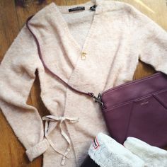 That's a wrap - we've ended your search for the perfect fall cardi! www.trustfundboutique.com