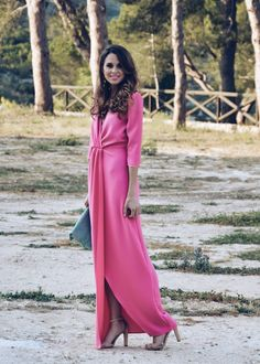 SWEET WEDDING - LookFORTime Dresses To Wear To A Wedding, Pink Wedding Dresses, Event Dresses, Maxi Outfits, Pink Outfits, Fashion Outfits, New Look Fashion, Colorful Fashion, The Dress