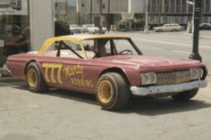Marty Robbins was not just a country music star, he was also a race car driver, running in Modified or Sportsman class before hitting NASCAR. Ray Evernham took to restoring old number 777, a 1964 Belvedere that Robbins raced. Check out the condition it was in before the restoration.