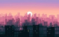 Check out this awesome collection of Pixel Art wallpapers, with 30 Pixel Art wallpaper pictures for your desktop, phone or tablet. Samsung Wallpapers, Cute Desktop Wallpaper, Wallpaper Notebook, Aesthetic Desktop Wallpaper, Macbook Wallpaper, City Wallpaper, Scenery Wallpaper, Computer Wallpaper, Aesthetic Backgrounds