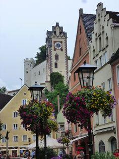 Füssen, Bavaria. They have the best ice-cream anywhere!!
