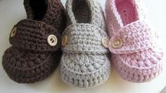 Hey, I found this really awesome Etsy listing at https://www.etsy.com/listing/100122689/crochet-baby-booties-cotton-little