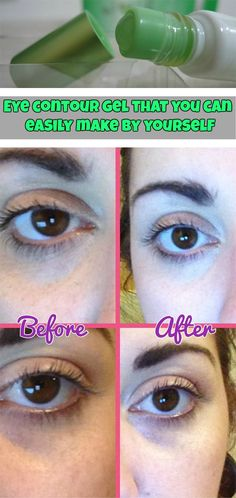 Eye contour gel that you can easily make by yourself - WeLoveBeauty.info