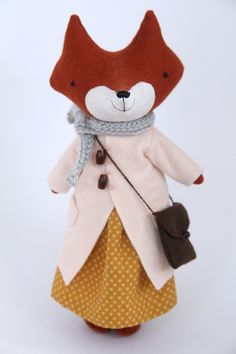 Manomine fox doll